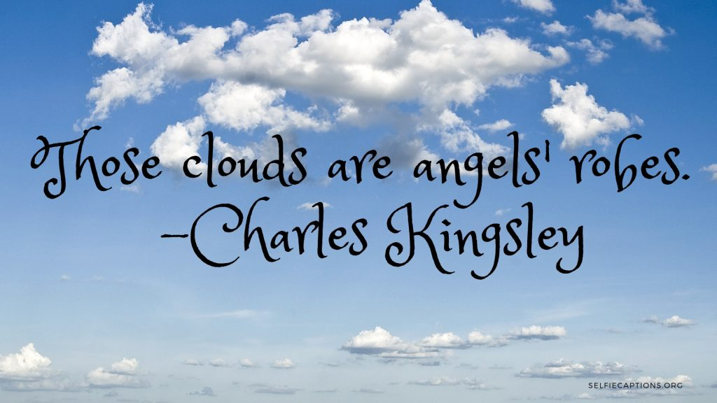 Beautiful Cloud Captions For Instagram Sky Photos Selfie