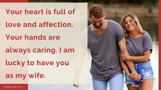 100+ Best love words messages for wife | Selfie Captions